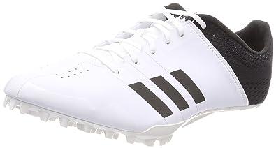 promo code cd29e 391c1 Adidas Adizero Finesse, Chaussures dAthlétisme Mixte Adulte, Blanc  NegbásFtwbla 000