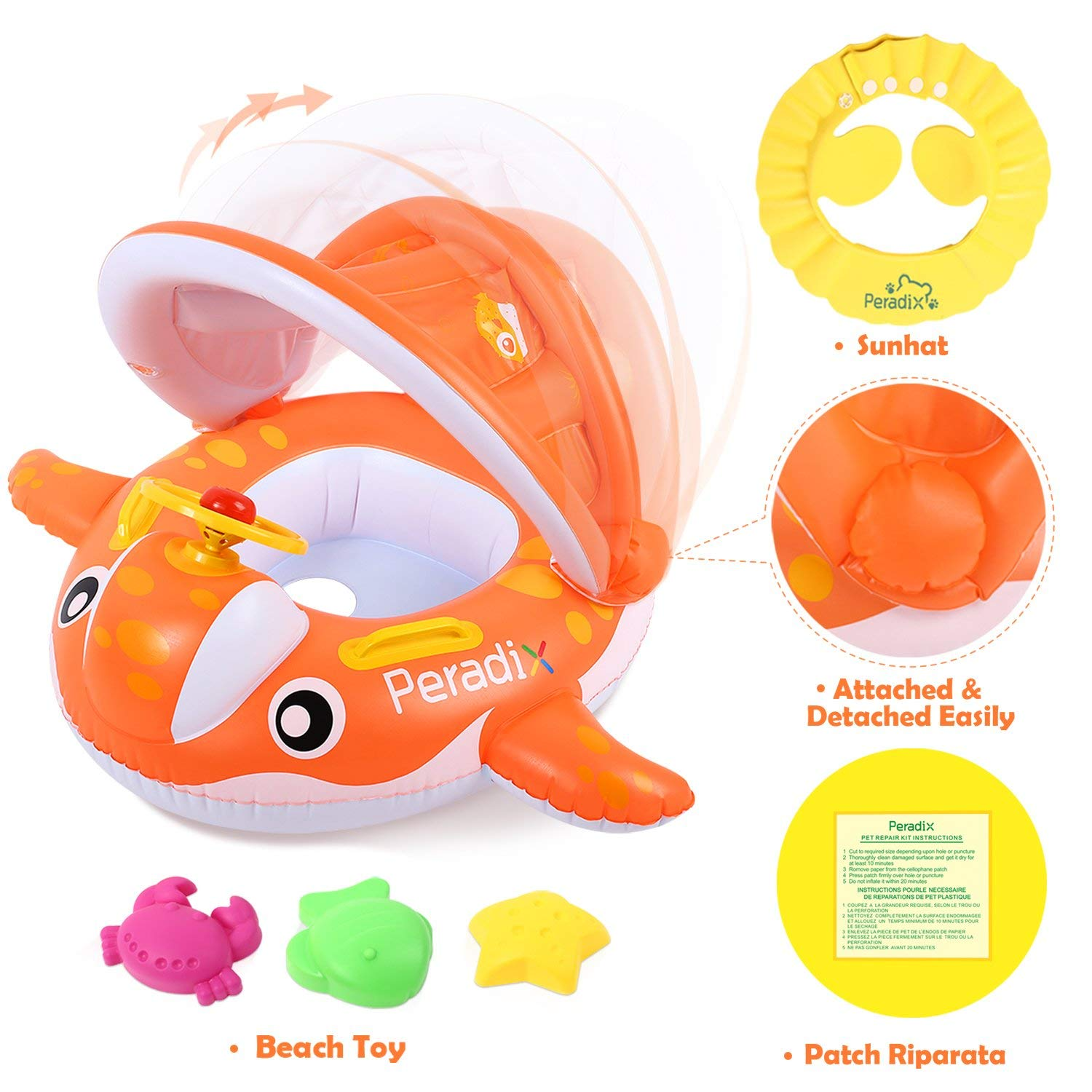 Top 9 Best Swim Floaties for Toddlers Reviews in 2020 9