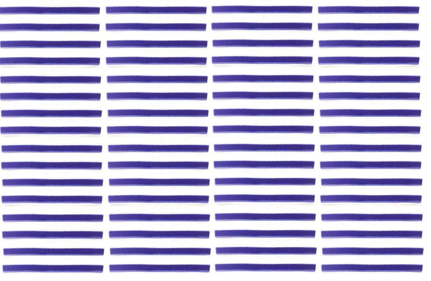 Royal Blue Replacement Cleaning Strips (64-Pack) VPI Okki Nokki 3M LP Vinyl Record Album