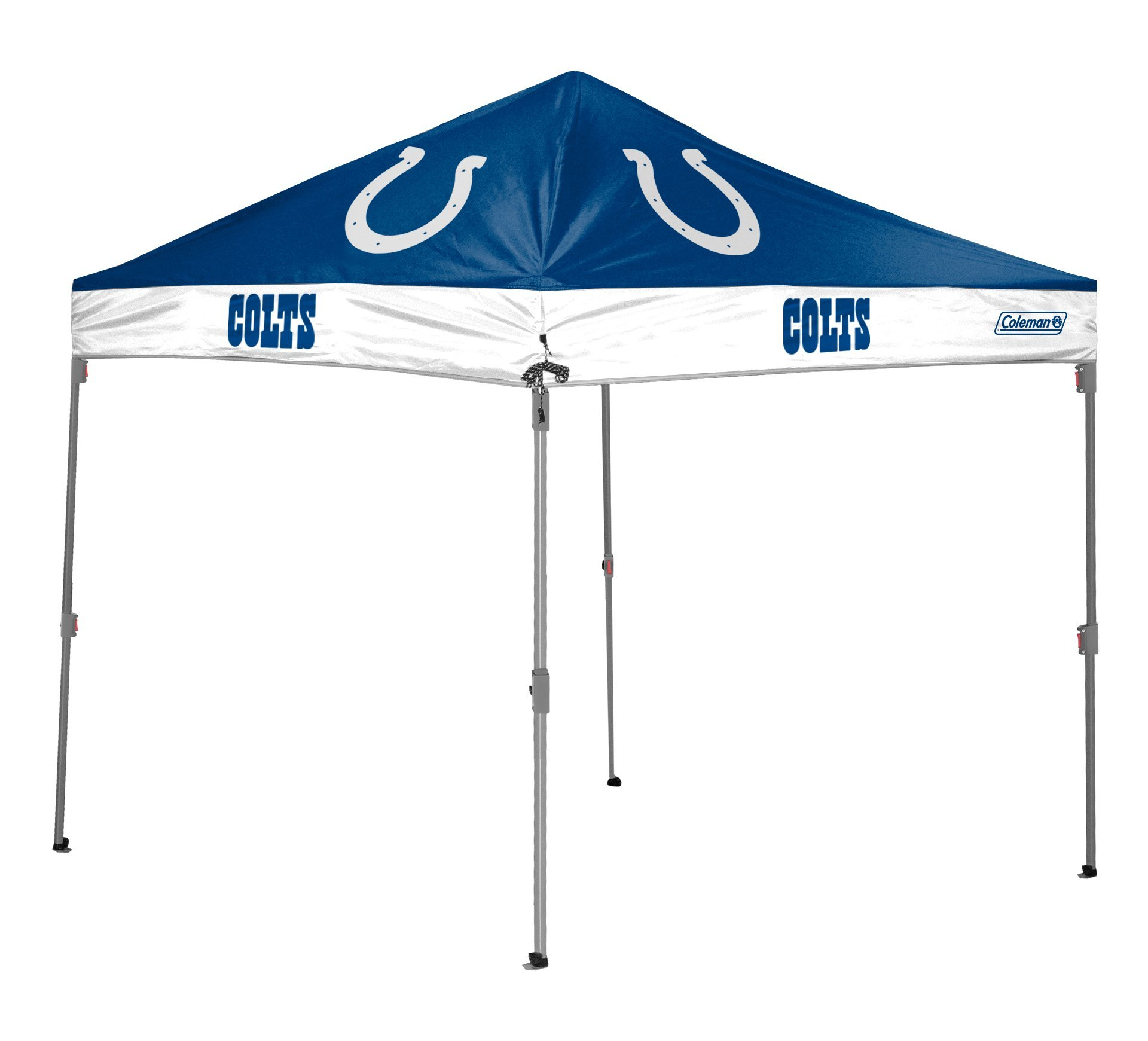 NFL Indianapolis Colts Straight Leg Canopy, 10 x 10, Blue