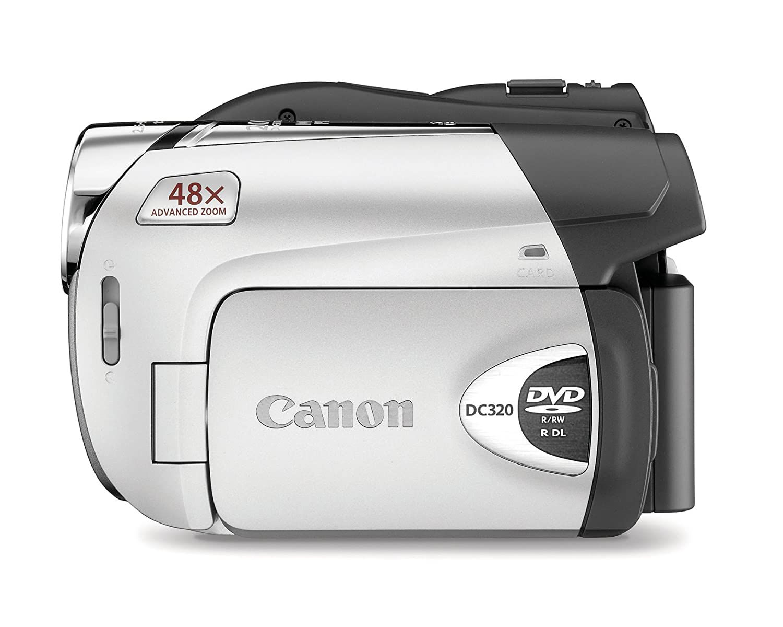 amazon com canon dc320 1 07mp dvd camcorder with 37x optical zoom rh amazon com Canon Vixia Canon ZR600 Digital Camcorder