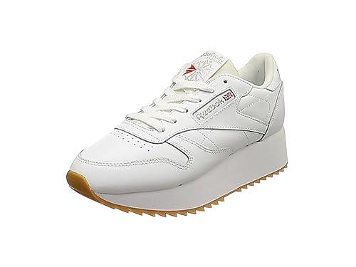 Reebok Classic Leather Double Mujer Zapatillas Blanco