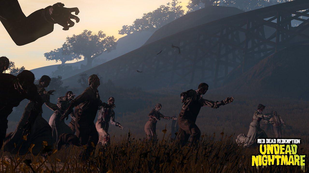 Amazon Com Red Dead Redemption Undead Nightmare Xbox 360 Video Games