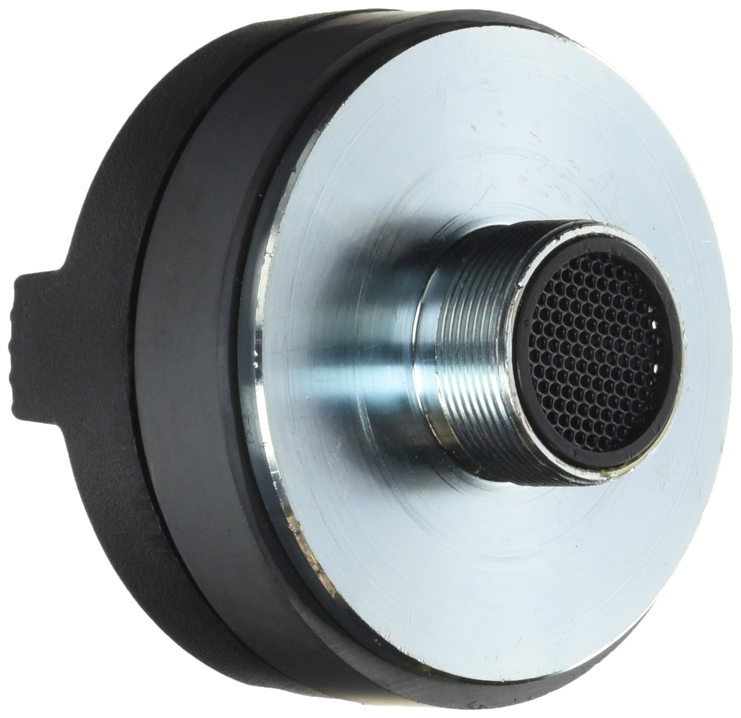 1.5 Inch Tweeter Horn Driver - 500 Watt High Power Car Audio Speaker Tweeter System w/ Flat Aluminum Voice Coil, 1.5k-20 kHz Frequency, 95 dB, 8Ohm, Heavy Duty 30 oz Magnet Structure - Pyle PDS122