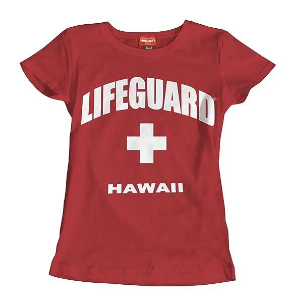 3c428adae37 Amazon.com  Maui Clothing Lifeguard Hawaii Women s Tee  Clothing