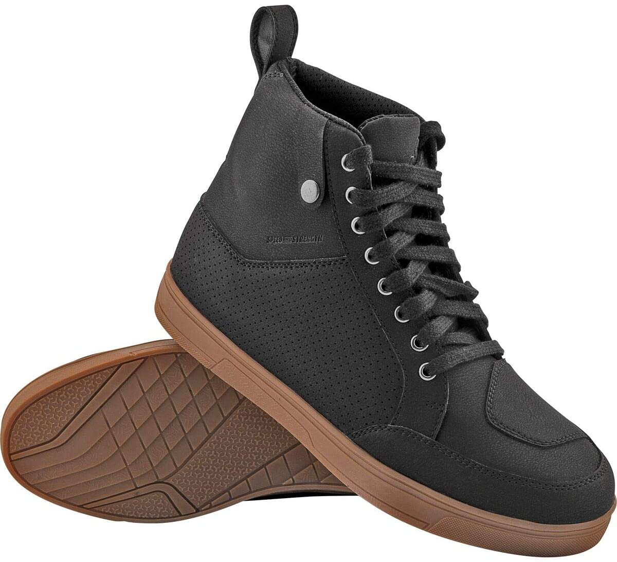 Speed Strength United Inexpensive Mail order by Shoes Black Gum 10