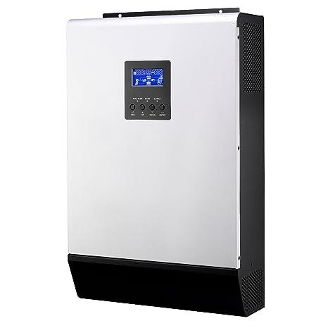Iconica 4000W 48V Hybrid Pure Sine wave Inverter con 80A MPPT controlador de carga solar y 60A cargador de batería: Amazon.es: Electrónica