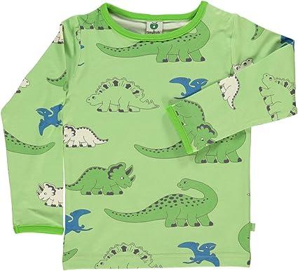 2e5bb7f71 Småfolk Smafolk Long Sleeve Dino T-Shirt - Sap Green - 110-116 cm - 5-6  Years: Amazon.co.uk: Clothing