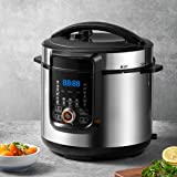 18-in-1 Pressure Cooker, 6 Quart, Slow Cooker, Rice Cooker, Soup Maker, Steamer, Saute, Multi-Use Programs, 9 Accessories and