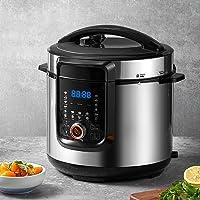 18-in-1 Pressure Cooker, 6 Quart, Slow Cooker, Rice Cooker, Soup Maker, Steamer, Saute, Multi-Use Programs, 9…