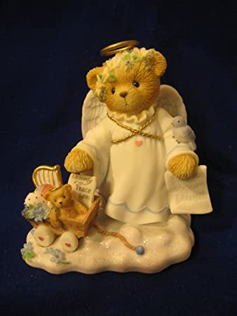 Cherished Teddies………. Fay . . An Angel s Touch Is Never Far Awary