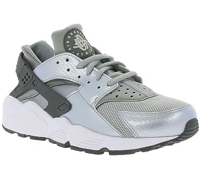 99e4146e7bfe Nike Women s Air Huarache Run Wolf Grey Dark Grey-White 634835-014 Shoe