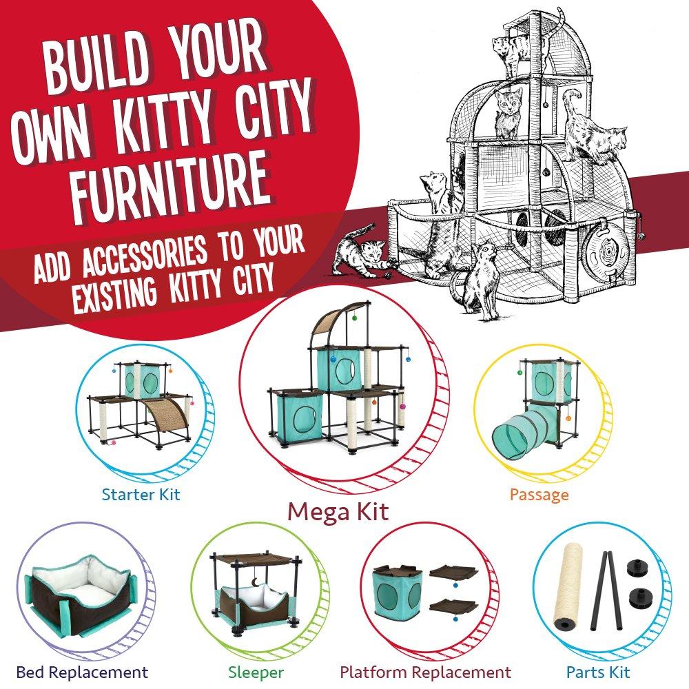 Kitty City Steel Claw Starter Kit Cat Furniture