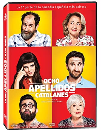 Amazon.com: Ocho Apellidos Catalanes DVD Region 1 / 4 (Solo ...