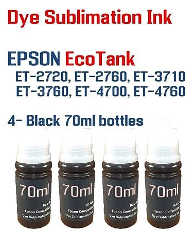 Amazon.com: Tinta de sublimación de tinte - EcoTank ET-2720 ...