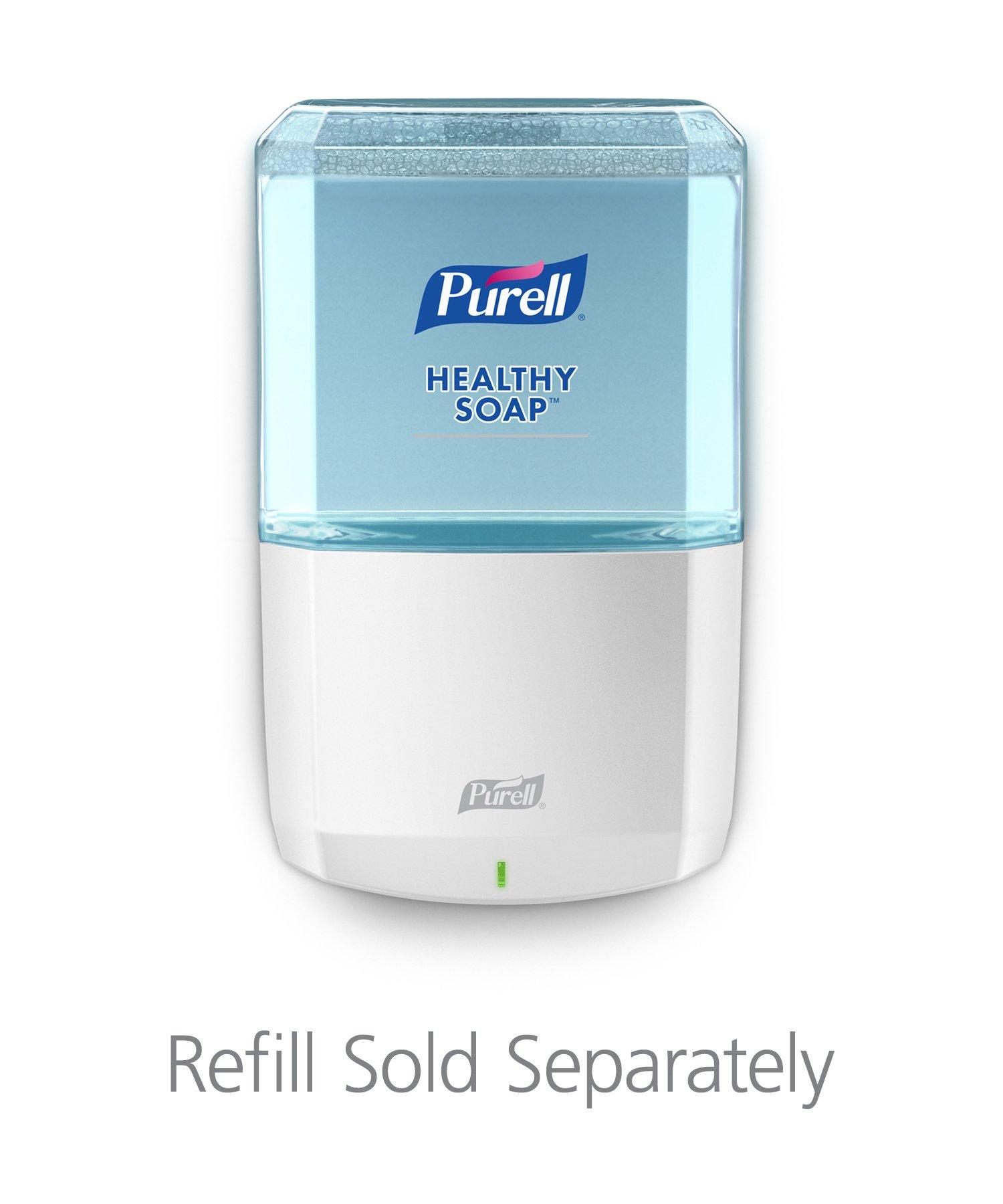 PURELL Healthy SOAP ES8 Dispenser, White, Dispenser for ES8 1200mL Refills - 7730-01