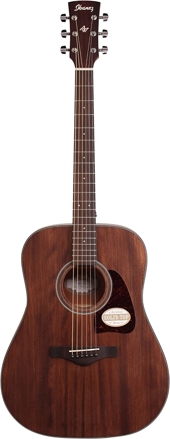 Ibanez AW54OPN Mahogany Review - Artwood Acoustic Guitar! 2