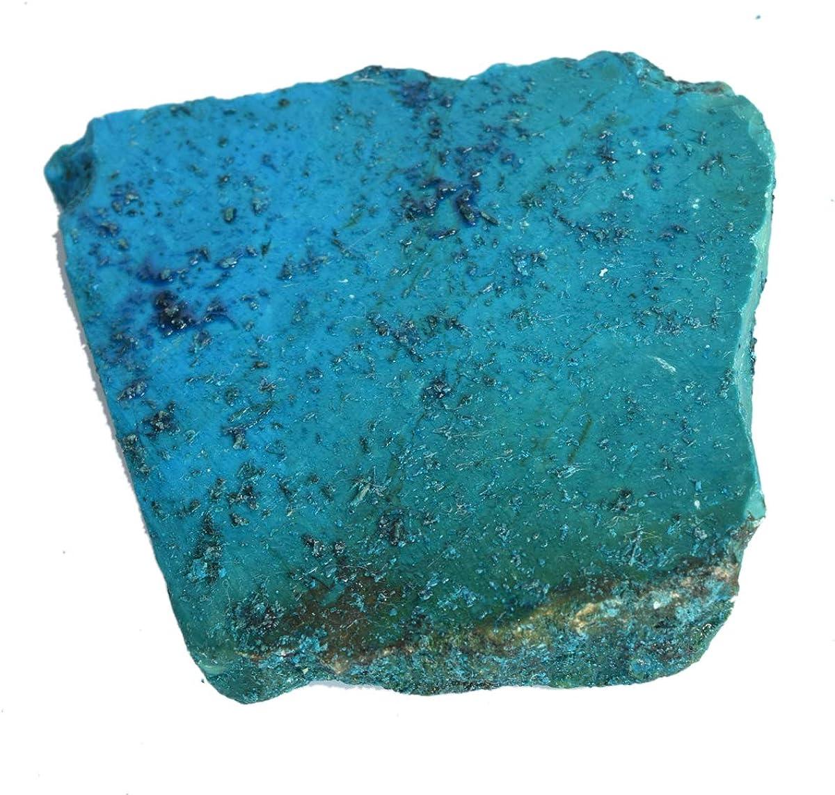 Gemhub Natural Raw Blue Turquoise Slab 1527.00 Ct Uncut Rough Healing Crystal Unheated Blue Turquoise Stone