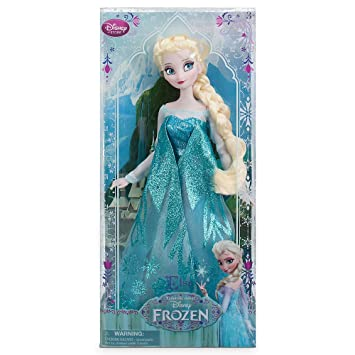 Elsa / Frozen - Eiskönigin Puppe - original Disney: Amazon.de: Spielzeug