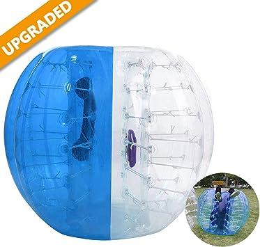 Amazon.com: Pelota hinchable de parachoques burbuja fútbol ...