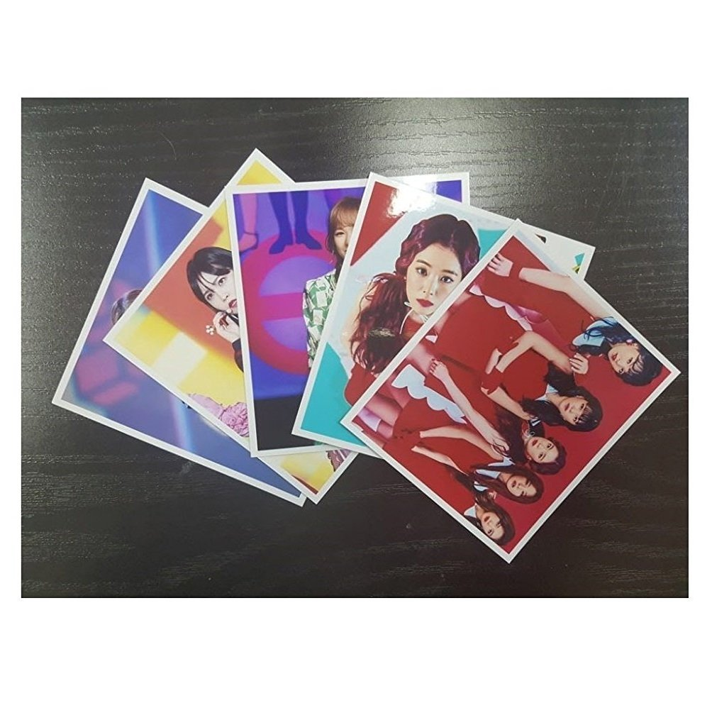 RED VELVET - 12 PHOTO POSTERS(16.5 x 11.7 inches) + 1 STICKER + 5 Photos(4 x 3 inches) by SM Entertainment