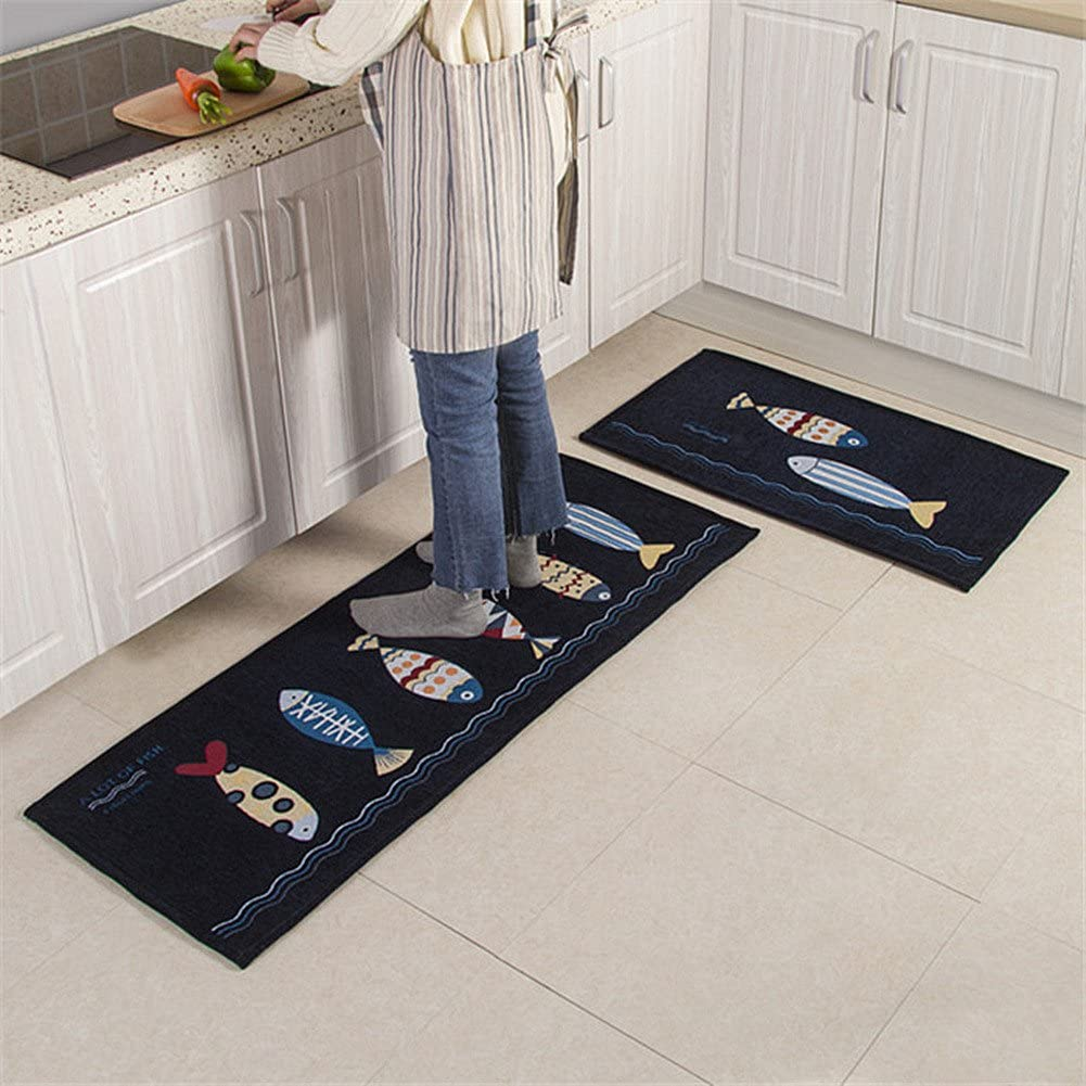 decoraci/ón de ba/ño colch/ón AKEYAY Alfombrilla Antideslizante para ba/ño 2 Piezas//Juego de alfombras Juego de alfombras