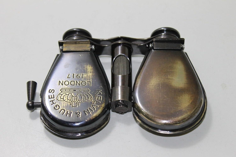 Shaheera Nauticalケルビン&ヒューズロンドン1917真鍮Opera Glassesポケット折りたたみ双眼鏡 B07C9MWKMG