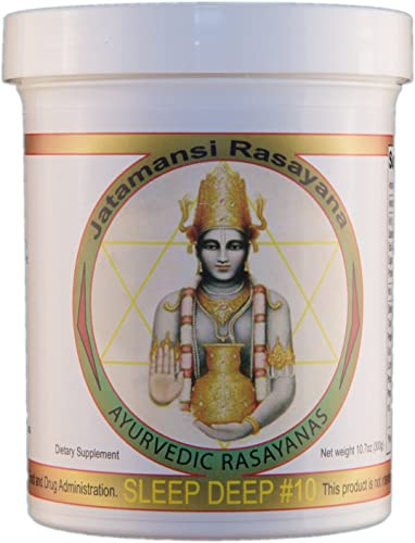 Ayurvedic Rasayanas – Sleep DEEP – A Herbal Honey That Melts in Your Mouth, or can be Made into a Relaxing Tea.