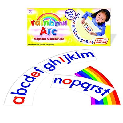 Junior Learning Alphabet Arc Educational Action Games: Toys & Games