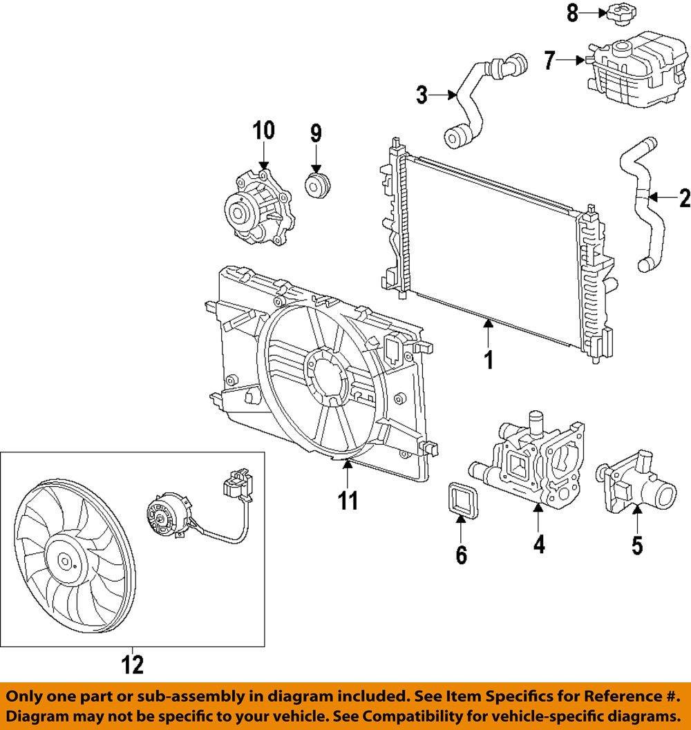 amazon com general motors 55578957, engine coolant outlet engine crankcase diagram gm engine coolant diagram #12