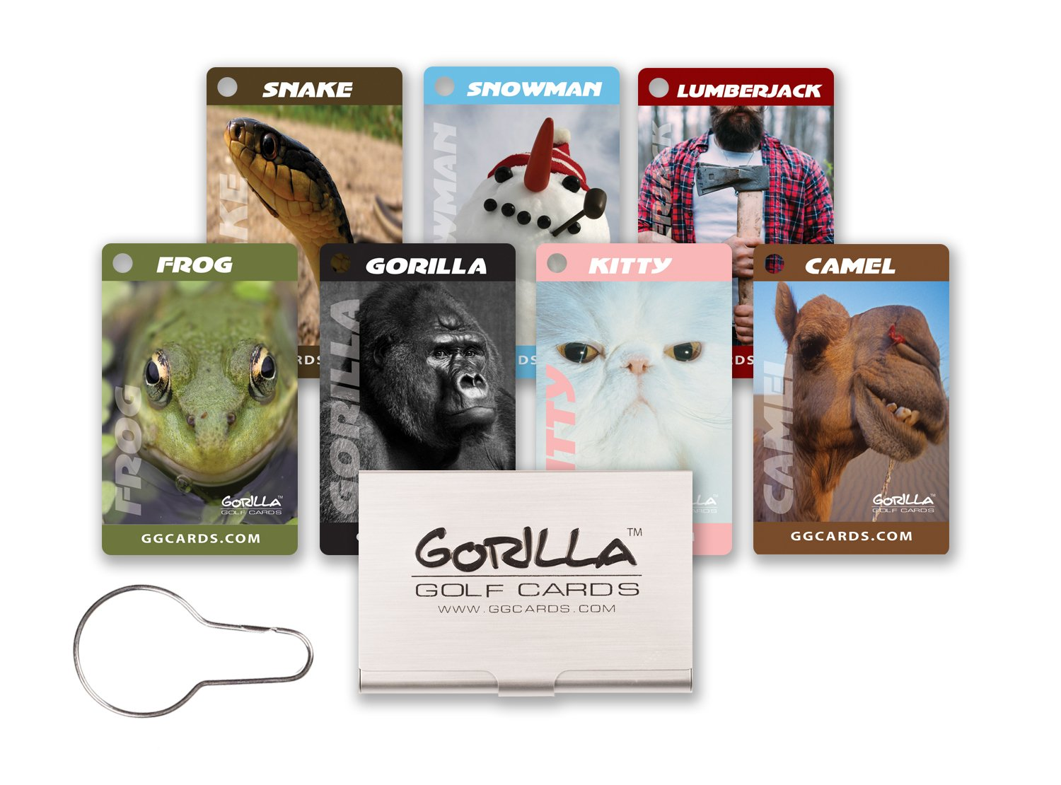 Gorilla Golf Cards : The On-Course Golf Betting Game