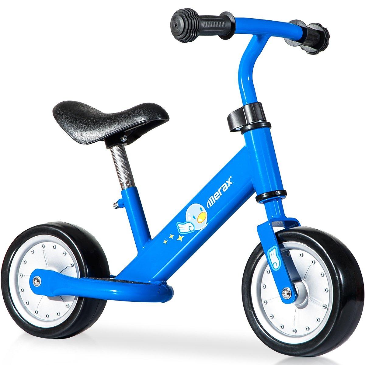 Merax No Pedal Balance Bike Walking Bicycle for Kids (Blue)