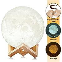 AGM Moon LED 3D Print Baby Night Light Table Desk Lamp