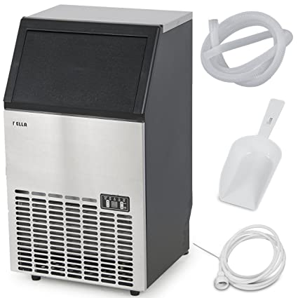 della stainless steel commercial ice maker undercounter freestanding machine 100lb24hr - Commercial Ice Machine