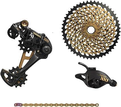 SRAM XX1 Eagle Gold 12 Speed MTB Chain 126 Links W// PowerLock HollowPin