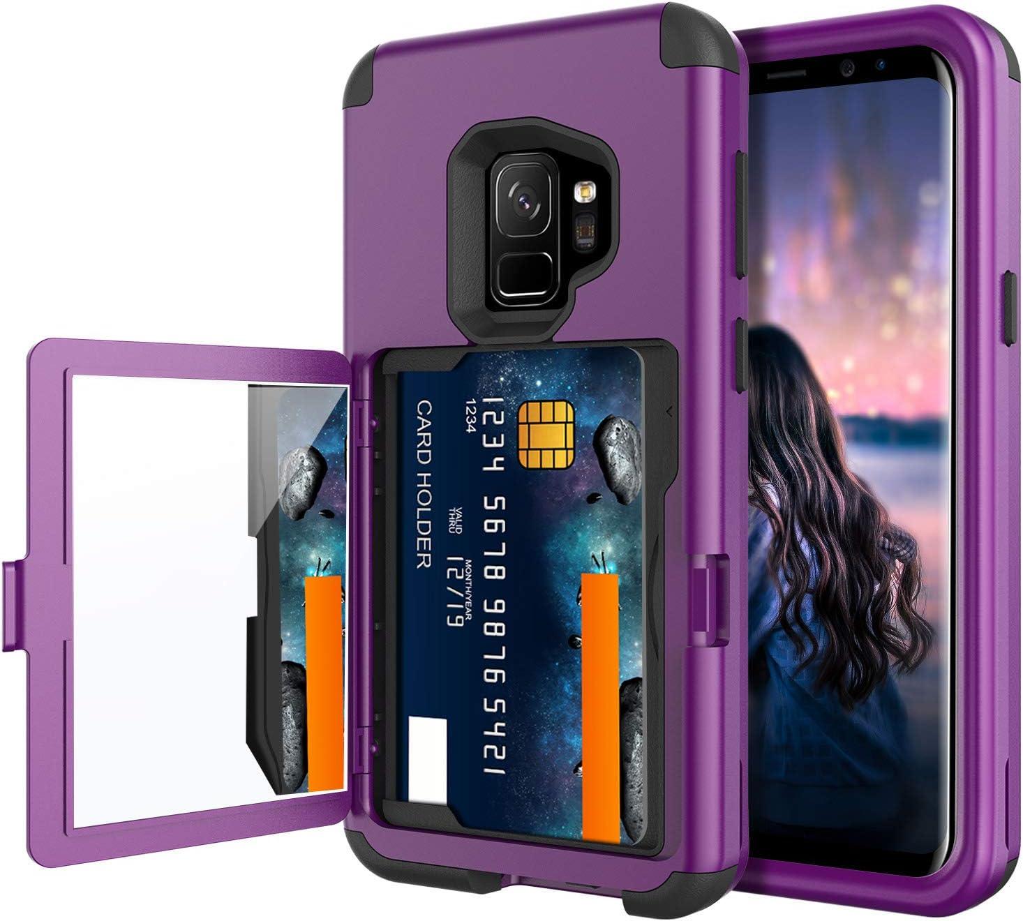 BENTOBEN Wallet Case for Galaxy S9