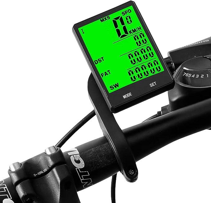Blizim Ordenador Computadora Cuentakilómetros para Bicicleta ...