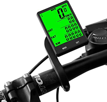 Blizim Ordenador Computadora Cuentakilómetros para Bicicleta Velocímetro Ciclo: Amazon.es: Electrónica
