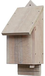 Greenkey 695 Medium Bat Box Natural Wood Easy Access Timber Untreated Waste Drop
