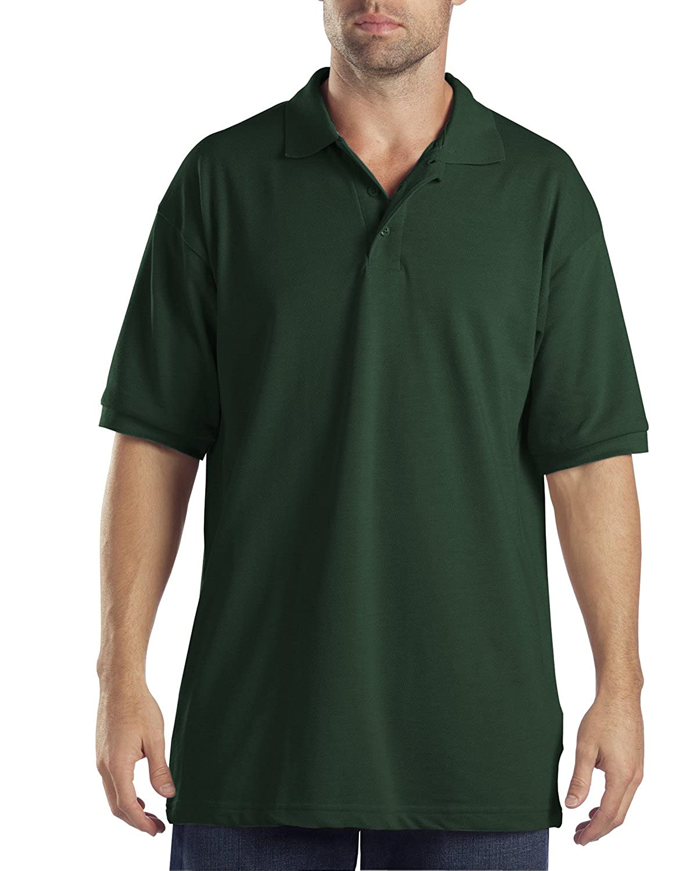 Dickies Men's Big Short-Sleeve Pique Polo Shirt Dickies Men's Sportswear KS5552