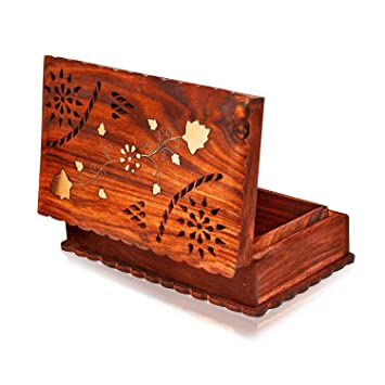 Amazoncom Valentines Day Gifts Handmade Wooden Jewelry Box