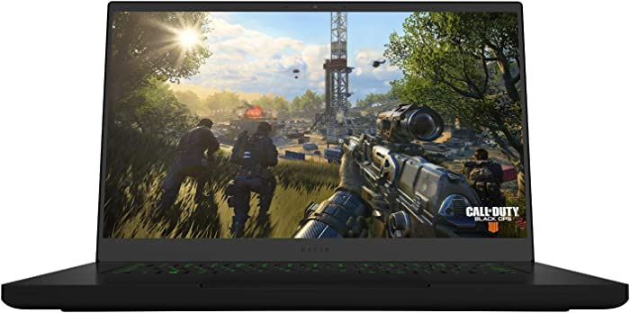 Razer Blade 15: Worlds Smallest 15.6in Gaming Laptop FHD i7-8750H 6 Core - NVIDIA GeForce GTX 1060 Max-Q - 16GB RAM - 256GB SSD + 2TB HDD - Windows 10 (Renewed)