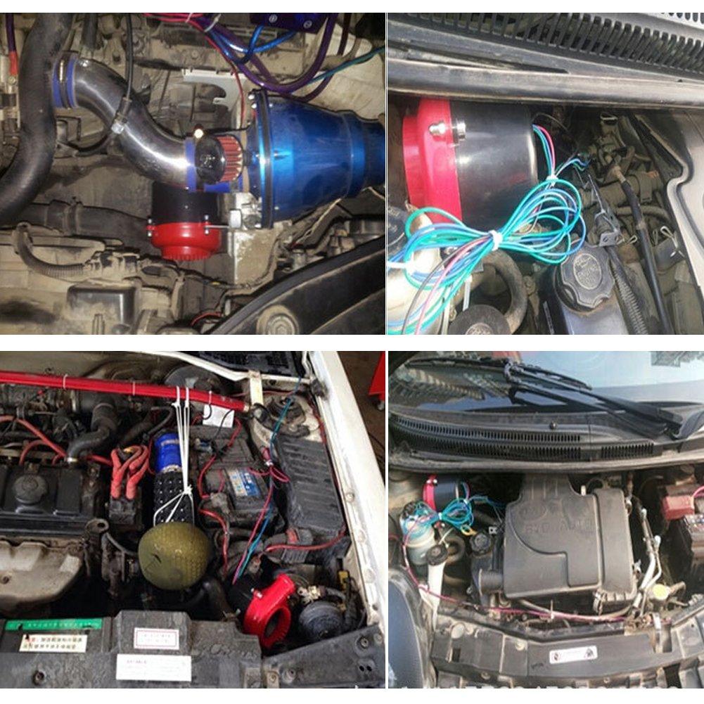 looyuan coche falsos Válvula de Descarga Electrónico Turbo Blow Off Valve BOV de sonido análogo: Amazon.es: Coche y moto