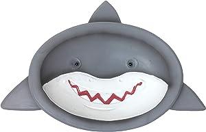 Borders Unlimited Fish ' N Sharks White Soap Dish or Trinket Holder, Multicolor