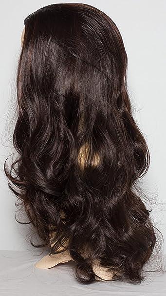 Amazon Com Elegant Hair 22 Ladies 3 4 Half Fall Wig Wavy
