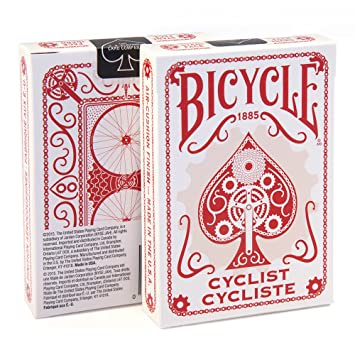 Bicycle Cyclist Playing Cards (RED) Edition Poker Collectible Deck