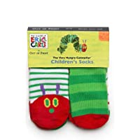 Very Hungry Caterpillar - Children's Socks - 12-24 Months (4 Pack)