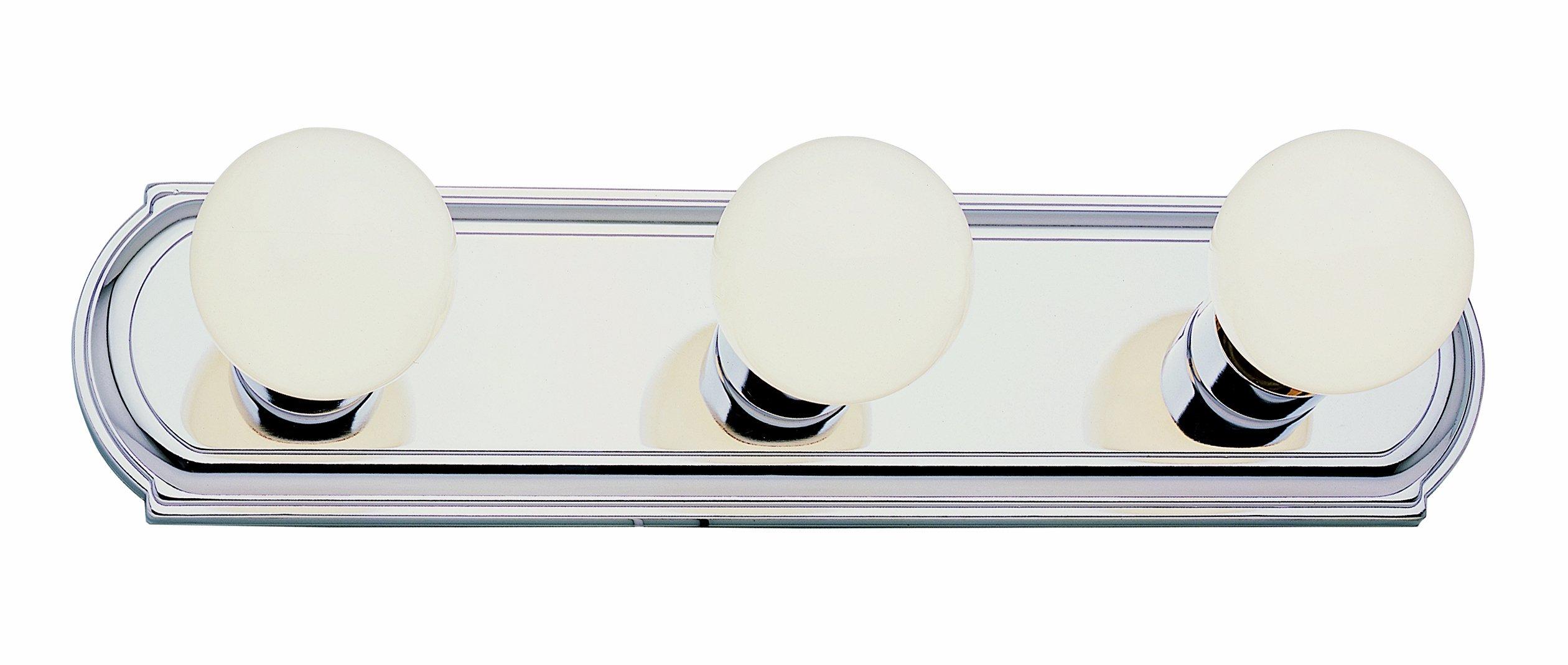 Trans Globe Lighting 3218 ROB 3-Light Racetrack Bar Bathroom Light Fixture, Rubbed Oil Bronze