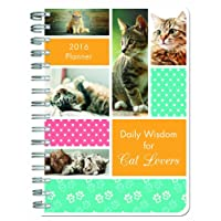 2016 PLANNER Daily Wisdom for Cat Lovers