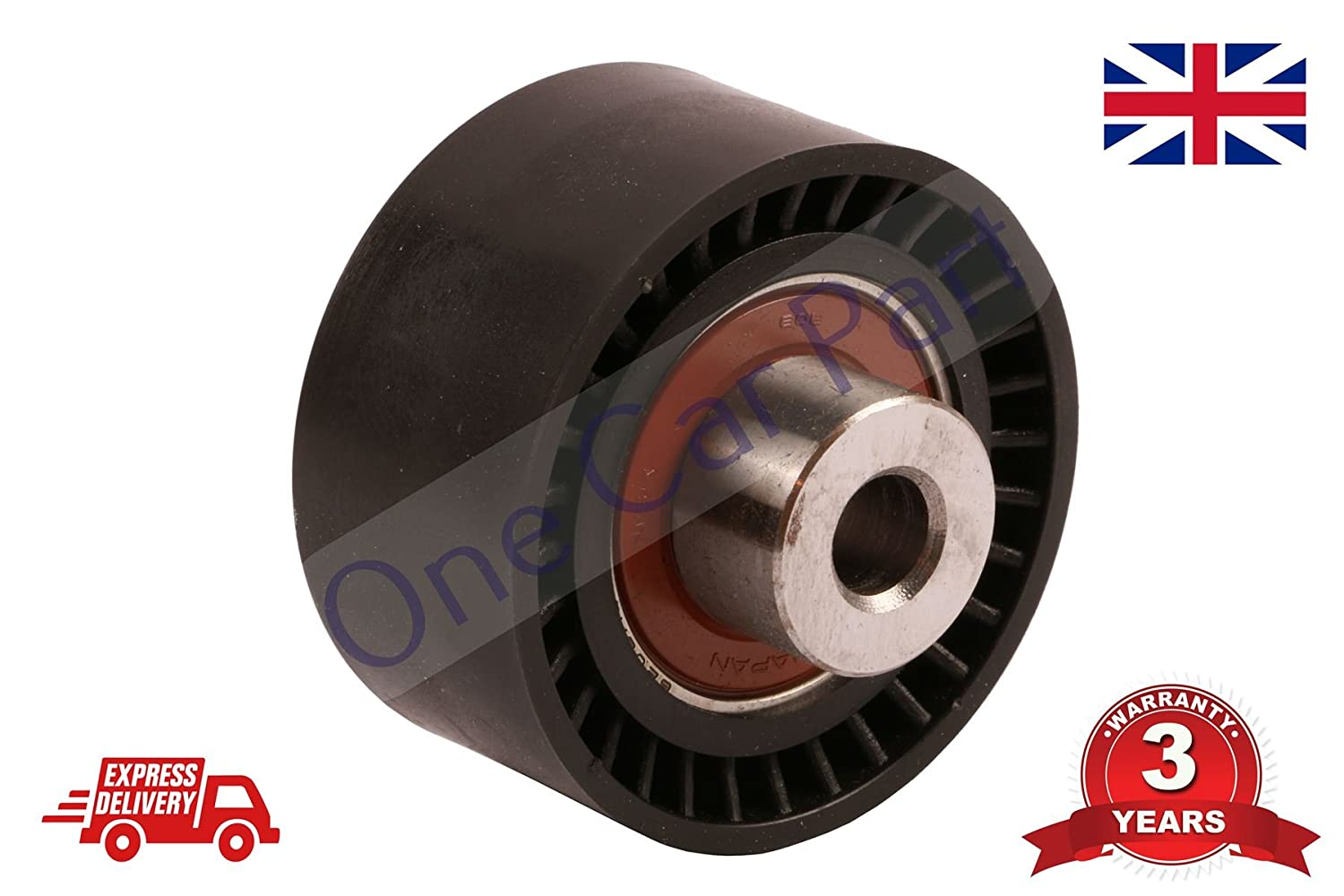 307 308 407 607 807 Fan Belt Tensioner Pulley V Ribbed Belt Idler 2.0 PARLEX